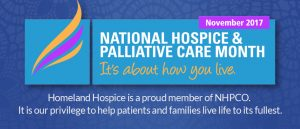 National Hospice & Palliative Care Month slide