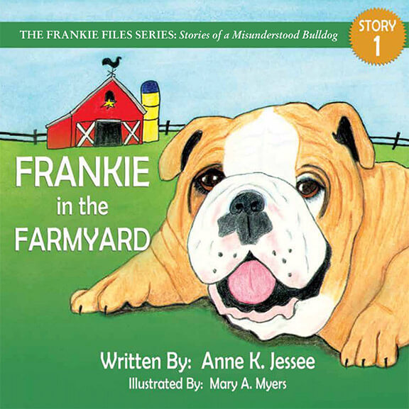 Frankie in the Farmyard