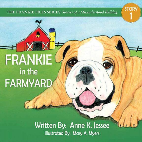 Frankie in the Farmyard