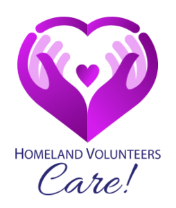 Homeland Volunteers Care!
