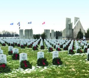 Wreaths honor fallen veterans at Fort Indiantown Gap