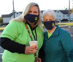 Nurse Bethany and Pat Crosson at Homeland Hospice 5k