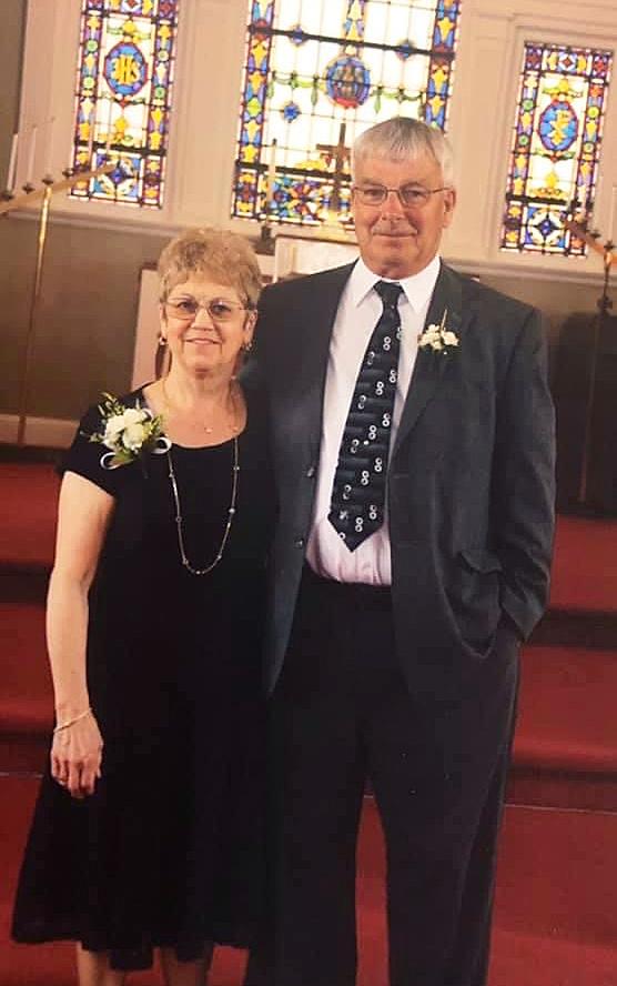 Pete and Pat Crosson in Formal Attire